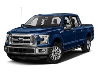 Lightning Blue 2017 Ford F-150 Pictures F-150 Crew Cab XLT 2WD photos front view