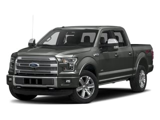 Magnetic Metallic 2017 Ford F-150 Pictures F-150 Crew Cab Platinum 2WD photos front view