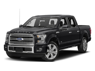 Shadow Black 2017 Ford F-150 Pictures F-150 Crew Cab Limited EcoBoost 2WD photos front view