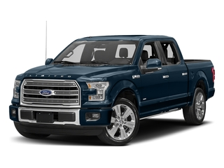 Blue Jeans Metallic 2017 Ford F-150 Pictures F-150 Crew Cab Limited EcoBoost 2WD photos front view