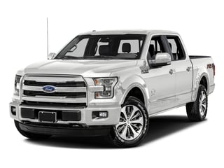 Oxford White 2017 Ford F-150 Pictures F-150 Crew Cab King Ranch 4WD photos front view