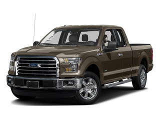 Caribou Metallic 2017 Ford F-150 Pictures F-150 Supercab XLT 4WD photos front view