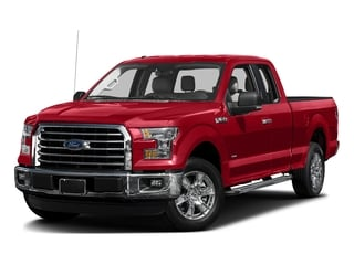 Race Red 2017 Ford F-150 Pictures F-150 Supercab XLT 4WD photos front view