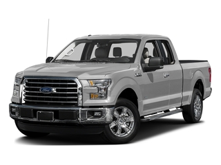 Ingot Silver Metallic 2017 Ford F-150 Pictures F-150 Supercab XLT 4WD photos front view