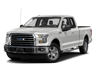 Oxford White 2017 Ford F-150 Pictures F-150 Supercab XLT 4WD photos front view