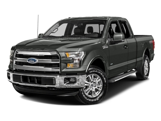 Magnetic Metallic 2017 Ford F-150 Pictures F-150 Supercab Lariat 2WD photos front view
