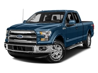 Blue Jeans Metallic 2017 Ford F-150 Pictures F-150 Supercab Lariat 2WD photos front view