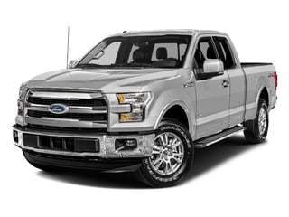 Ingot Silver Metallic 2017 Ford F-150 Pictures F-150 Supercab Lariat 2WD photos front view