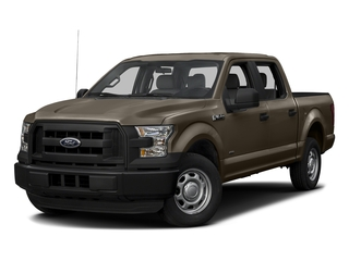 Caribou Metallic 2017 Ford F-150 Pictures F-150 Crew Cab XL 2WD photos front view