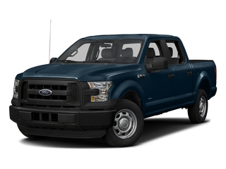 Blue Jeans Metallic 2017 Ford F-150 Pictures F-150 Crew Cab XL 2WD photos front view
