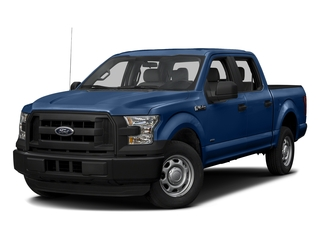 Lightning Blue 2017 Ford F-150 Pictures F-150 Crew Cab XL 2WD photos front view