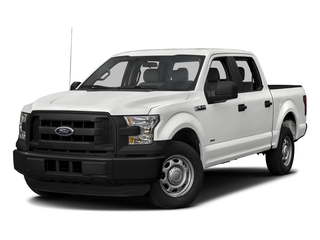 Oxford White 2017 Ford F-150 Pictures F-150 Crew Cab XL 2WD photos front view