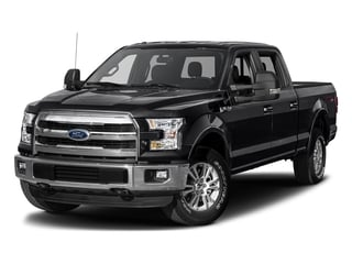 Shadow Black 2017 Ford F-150 Pictures F-150 Crew Cab Lariat 4WD photos front view