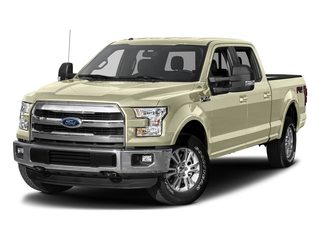 White Gold 2017 Ford F-150 Pictures F-150 Crew Cab Lariat 4WD photos front view
