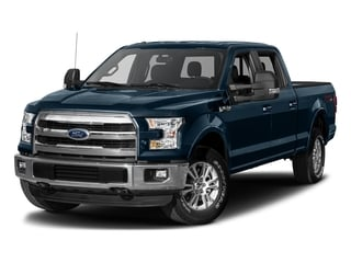 Blue Jeans Metallic 2017 Ford F-150 Pictures F-150 Crew Cab Lariat 4WD photos front view