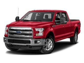 Race Red 2017 Ford F-150 Pictures F-150 Crew Cab Lariat 4WD photos front view