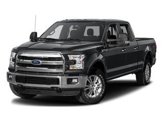 Lithium Gray 2017 Ford F-150 Pictures F-150 Crew Cab Lariat 4WD photos front view