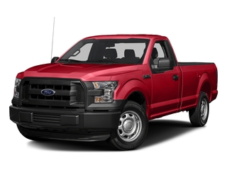 Race Red 2017 Ford F-150 Pictures F-150 Regular Cab XL 4WD photos front view