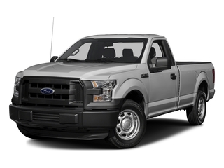 Ingot Silver Metallic 2017 Ford F-150 Pictures F-150 Regular Cab XL 4WD photos front view
