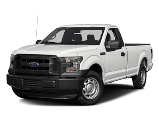 Oxford White 2017 Ford F-150 Pictures F-150 Regular Cab XL 4WD photos front view
