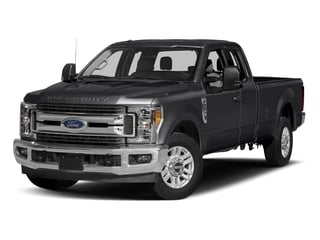 Shadow Black 2017 Ford Super Duty F-250 SRW Pictures Super Duty F-250 SRW Supercab XLT 2WD photos front view