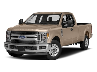 White Gold Metallic 2017 Ford Super Duty F-250 SRW Pictures Super Duty F-250 SRW Supercab XLT 2WD photos front view