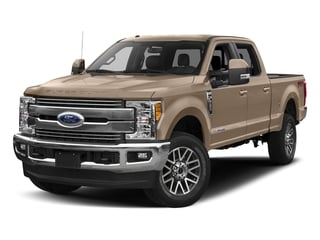 White Gold Metallic 2017 Ford Super Duty F-250 SRW Pictures Super Duty F-250 SRW Crew Cab Lariat 4WD photos front view