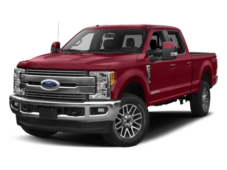 Ruby Red Metallic Tinted Clearcoat 2017 Ford Super Duty F-250 SRW Pictures Super Duty F-250 SRW Crew Cab Lariat 4WD photos front view
