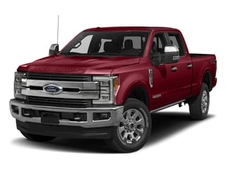 Ruby Red Metallic Tinted Clearcoat 2017 Ford Super Duty F-250 SRW Pictures Super Duty F-250 SRW Crew Cab King Ranch 4WD photos front view