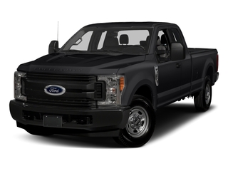 Shadow Black 2017 Ford Super Duty F-250 SRW Pictures Super Duty F-250 SRW Supercab XL 4WD photos front view