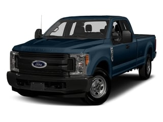 Blue Jeans Metallic 2017 Ford Super Duty F-250 SRW Pictures Super Duty F-250 SRW Supercab XL 4WD photos front view