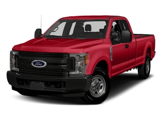 Race Red 2017 Ford Super Duty F-350 SRW Pictures Super Duty F-350 SRW Supercab XL 4WD photos front view