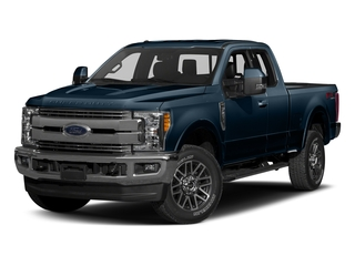 Blue Jeans Metallic 2017 Ford Super Duty F-350 SRW Pictures Super Duty F-350 SRW Supercab Lariat 2WD photos front view