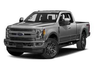 Ingot Silver Metallic 2017 Ford Super Duty F-250 SRW Pictures Super Duty F-250 SRW Supercab Lariat 4WD photos front view