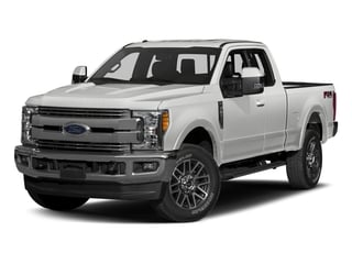 Oxford White 2017 Ford Super Duty F-250 SRW Pictures Super Duty F-250 SRW Supercab Lariat 4WD photos front view