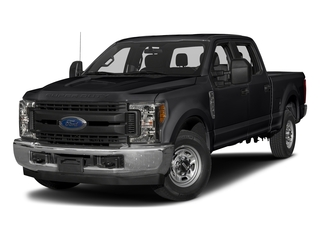 Shadow Black 2017 Ford Super Duty F-250 SRW Pictures Super Duty F-250 SRW Crew Cab XL 4WD photos front view