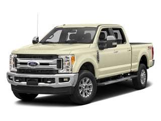 White Gold Metallic 2017 Ford Super Duty F-350 SRW Pictures Super Duty F-350 SRW Crew Cab XLT 4WD photos front view