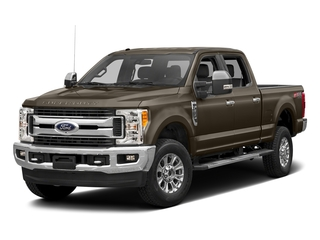 Caribou Metallic 2017 Ford Super Duty F-350 SRW Pictures Super Duty F-350 SRW Crew Cab XLT 4WD photos front view