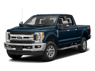 Blue Jeans Metallic 2017 Ford Super Duty F-350 SRW Pictures Super Duty F-350 SRW Crew Cab XLT 4WD photos front view