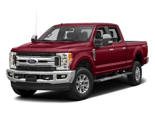 Ruby Red Metallic Tinted Clearcoat 2017 Ford Super Duty F-350 SRW Pictures Super Duty F-350 SRW Crew Cab XLT 4WD photos front view