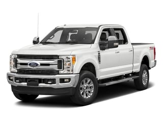 Oxford White 2017 Ford Super Duty F-350 SRW Pictures Super Duty F-350 SRW Crew Cab XLT 4WD photos front view