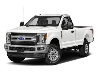 Oxford White 2017 Ford Super Duty F-250 SRW Pictures Super Duty F-250 SRW Regular Cab XLT 2WD photos front view