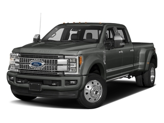 Magnetic Metallic 2017 Ford Super Duty F-450 DRW Pictures Super Duty F-450 DRW Crew Cab Platinum 4WD T-Diesel photos front view