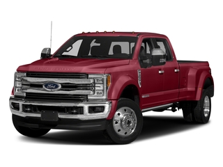 Ruby Red Metallic Tinted Clearcoat 2017 Ford Super Duty F-450 DRW Pictures Super Duty F-450 DRW Crew Cab King Ranch 4WD T-Diesel photos front view