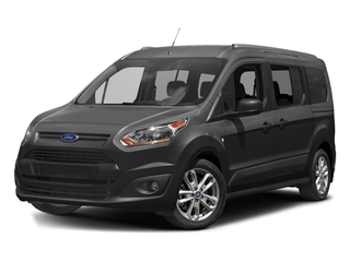 Shadow Black 2017 Ford Transit Connect Wagon Pictures Transit Connect Wagon Extended Passenger Van XLT photos front view