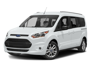 Frozen White 2017 Ford Transit Connect Wagon Pictures Transit Connect Wagon Extended Passenger Van XLT photos front view