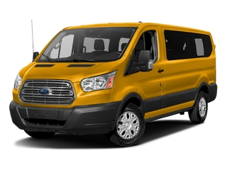 School Bus Yellow 2017 Ford Transit Wagon Pictures Transit Wagon Passenger Van XL Low Roof photos front view