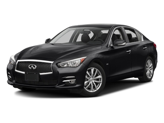 Midnight Black 2017 INFINITI Q50 Pictures Q50 3.0t Signature Edition AWD photos front view