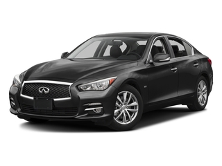 Black Obsidian 2017 INFINITI Q50 Pictures Q50 3.0t Signature Edition AWD photos front view