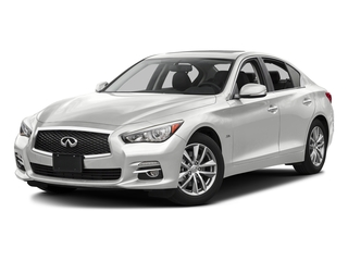 Pure White 2017 INFINITI Q50 Pictures Q50 3.0t Signature Edition AWD photos front view